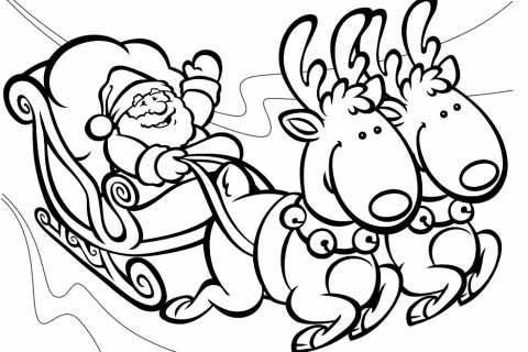 Dibujos Renos Navidad - Dibujos Renos Navidad gratis para ...