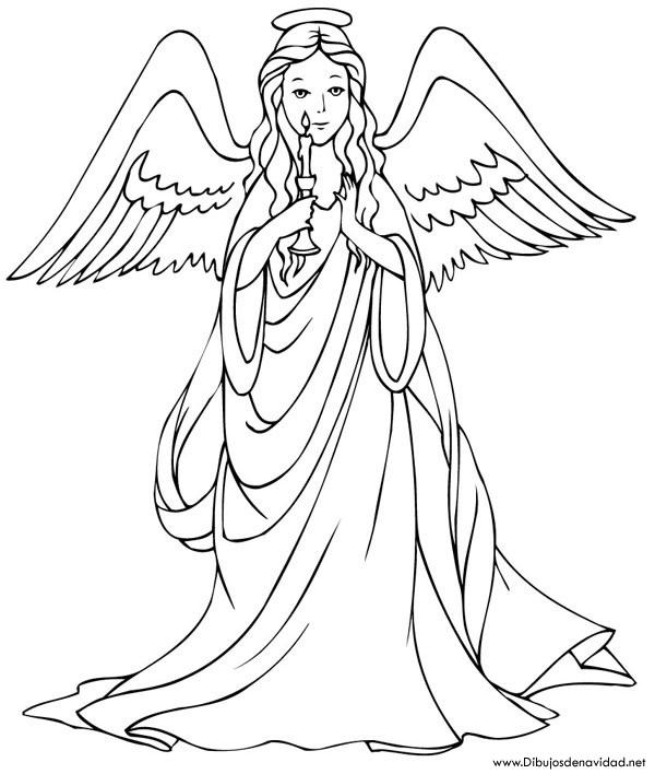 De angeles dibujados - Imagui